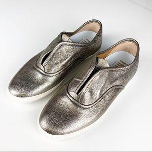 Frye Maya CVO Slip On Metallic Sneakers, Size 7.5